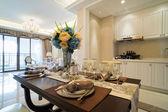 Bella sala da pranzo — Foto Stock