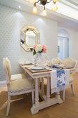 Sala de jantar de luxo — Fotografia Stock