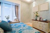 Luxury bedroom — Stockfoto