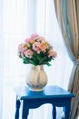 Flower with vase — Stock Photo