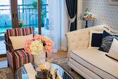 Schönes wohnzimmer — Stockfoto
