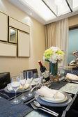 Modern dining room — Stock Photo
