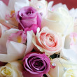 Stock Photo: Brides bouquet close-up