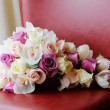 Brides bouquet of flowers — Stock Photo #13936158