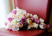 Brides bouquet of flowers — Stock Photo