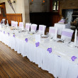 Stock Photo: Table at wedding reception