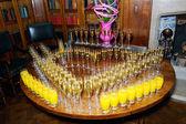 Wedding reception drinks — Stock Photo