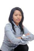 Asijské dámou — Stock fotografie