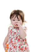 Crying toddler — Stock Photo