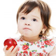 Taste of apple — Stock Photo