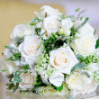 Brides white roses — Stock Photo #23114022