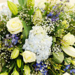 Foto Stock: Wedding flowers closeup