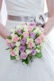 Brides flowers closeup — Stock Photo