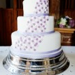 Foto Stock: Wedding cake