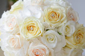 Bride bouquet closeup — Stock Photo