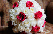 Bride floral arrangement — Stock Photo