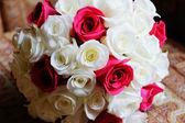 Brides bouquet closeup — Stock Photo