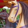 Stock Photo: Fairground Horse