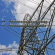 Towering Electricity Pylon — Stock Photo