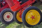 Restored Old Wheels — Stock Photo