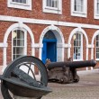 Постер, плакат: The old Custom House at Exeter Quay UK