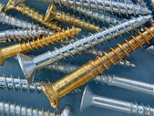 Screws Close Up — Stock Photo