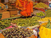 Indian Greengrocery — Stock Photo