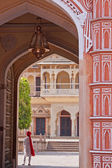 Indian Palace Scene — Stock Photo