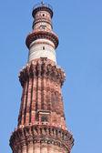 Qutb Minar tower — Stock Photo