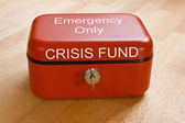 Crisis Fund — Stock Photo