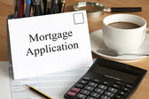 Mortgage Application — Stock Photo