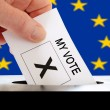 European Voter — Stock Photo