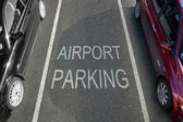 Airport Parking — Stock Photo
