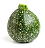 Round courgette — Stock Photo