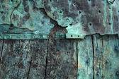 Oxidized copper — Stock Photo