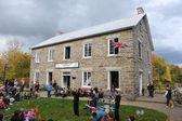 Eski gristmill hasat festivali — Stok fotoğraf