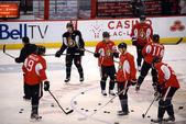 Ottawa Senators begin training camp after lockout ends — Stock Photo