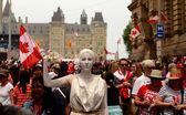 Canada Day in Ottawa — Stock Photo