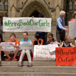 Постер, плакат: Bring back our girls rally in Ottawa