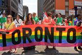 World Pride Parade Toronto — Stock Photo