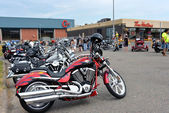Cape Breton Bike Rally — Stock fotografie