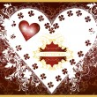 Royalty-Free Stock Imagen vectorial: Invitation valentine luxury card