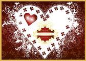 Invitation valentine luxury card — Stock Vector