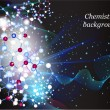 Chemistry background — Vector de stock #13646923