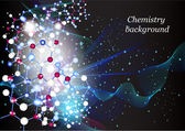 Chemistry background — Stock Vector