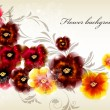 Flower elegant background — Vettoriali Stock