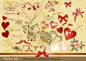 Decorative valentine — Stock Vector