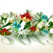Christmas new year 2013 card — Image vectorielle
