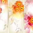 Royalty-Free Stock Vector Image: Floral brochure set