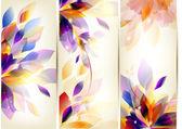 Brochure colorful set — Stock Vector